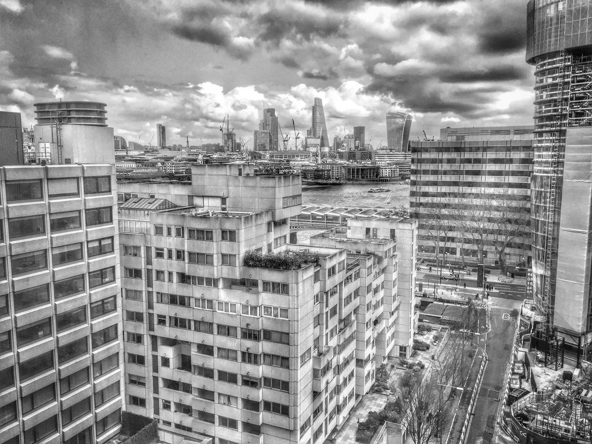 City Cityscapes Hanging Out Taking Photos Enjoying Life Blackandwhite Monochrome View Taking Photos Hotel London City Life Relaxing Thames South Bank River Thames HDR