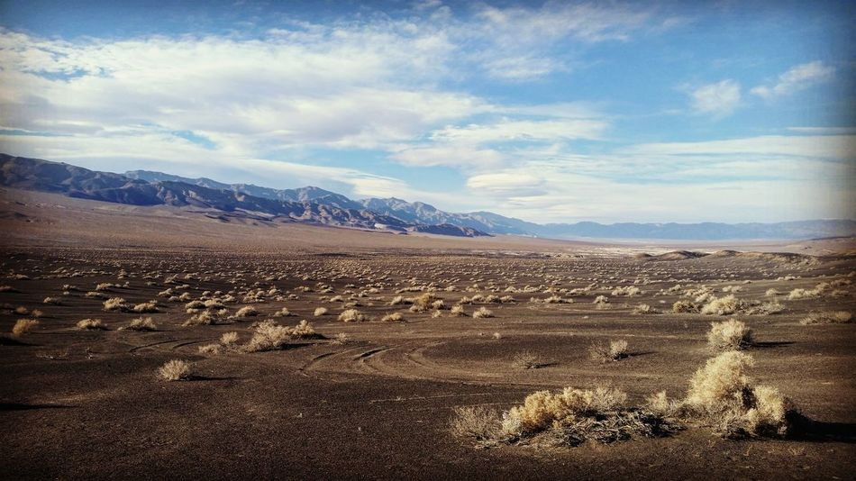 Death Valley Nature Cloud - Sky Landscape No People Mountain Sky Outdoors Remote Beauty In Nature Scenics Day Valley Sagebrush Scenery Scenic View Scenic Landscapes