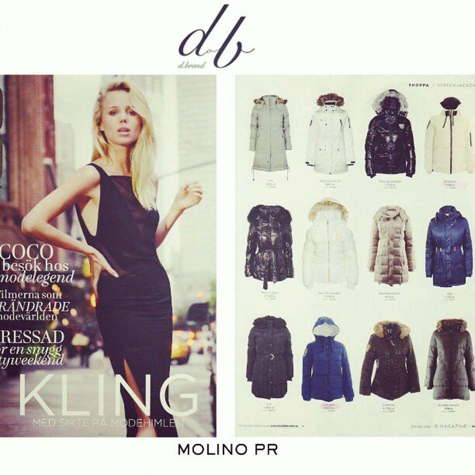 Elin Kling Fashion Mode Dbrand Blogg Magazine Trend Jacket Sweden Europa Dbrand .seDesign B Magazine PR - Winter Jackets
