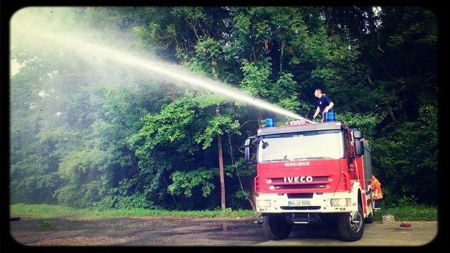 the new one Feuerwehr Fire Truck