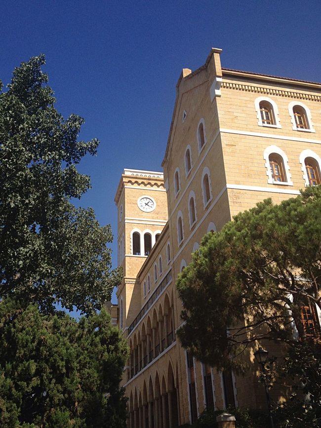 Aub College Hall Alma Mater Beirut