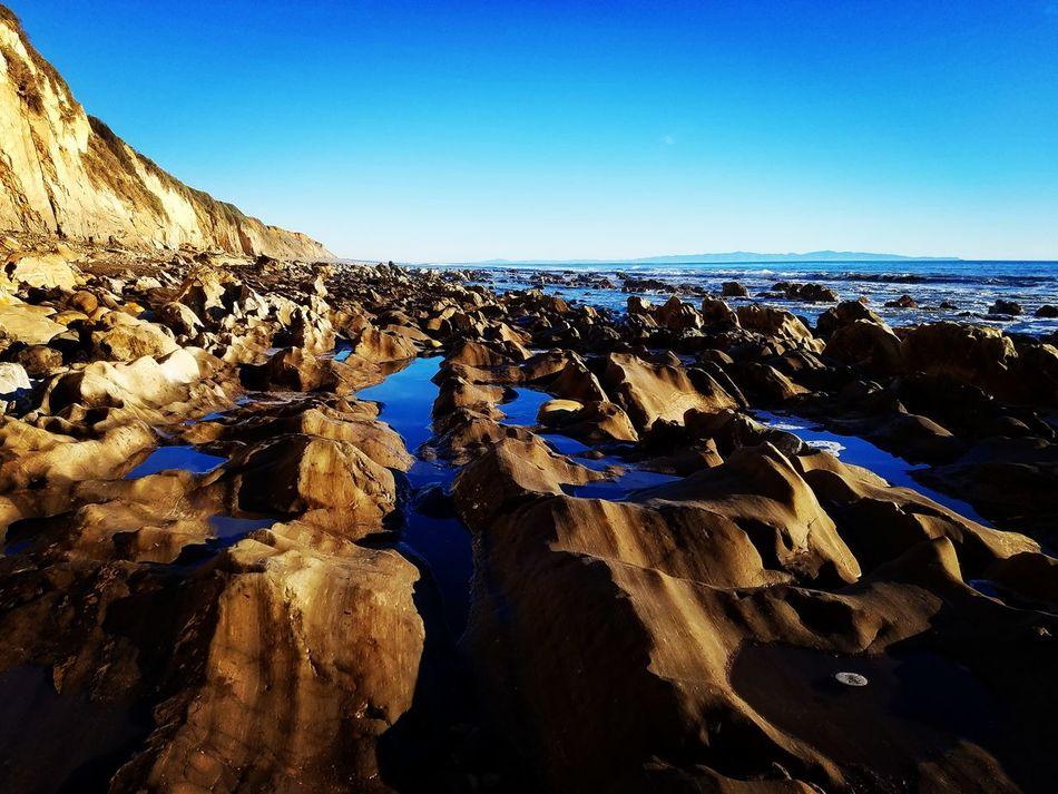 No beach. Winter Beauty In Nature No People Outdoors Landscape Gaviotacoast California Coast California Pacific Ocean Sea Beach