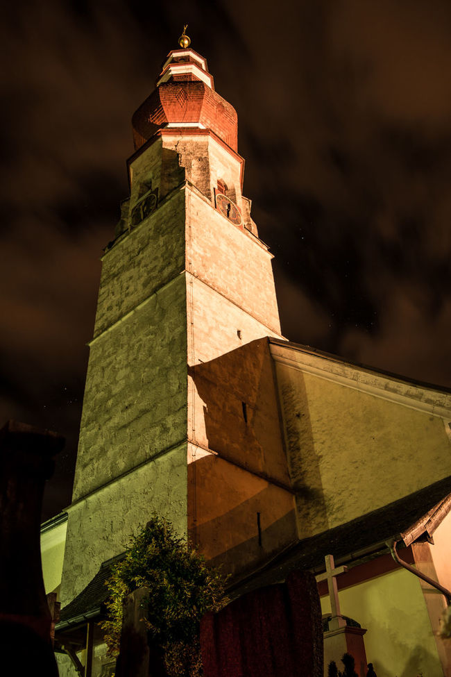 Church Church At Night  Church Salzburg Kirche Hallwang Long Exposure Night Nightphotography