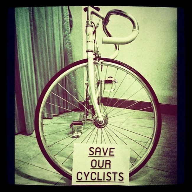 Saveourcyclists My Bike Bicycle fixedgear