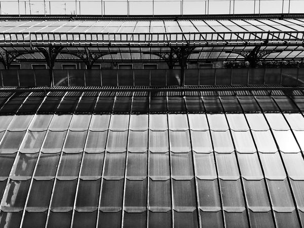Day No People Outdoors Architecture TheWeekOnEyeEM IPhoneography Architecture Blackandwhite Highline Galleria Milano