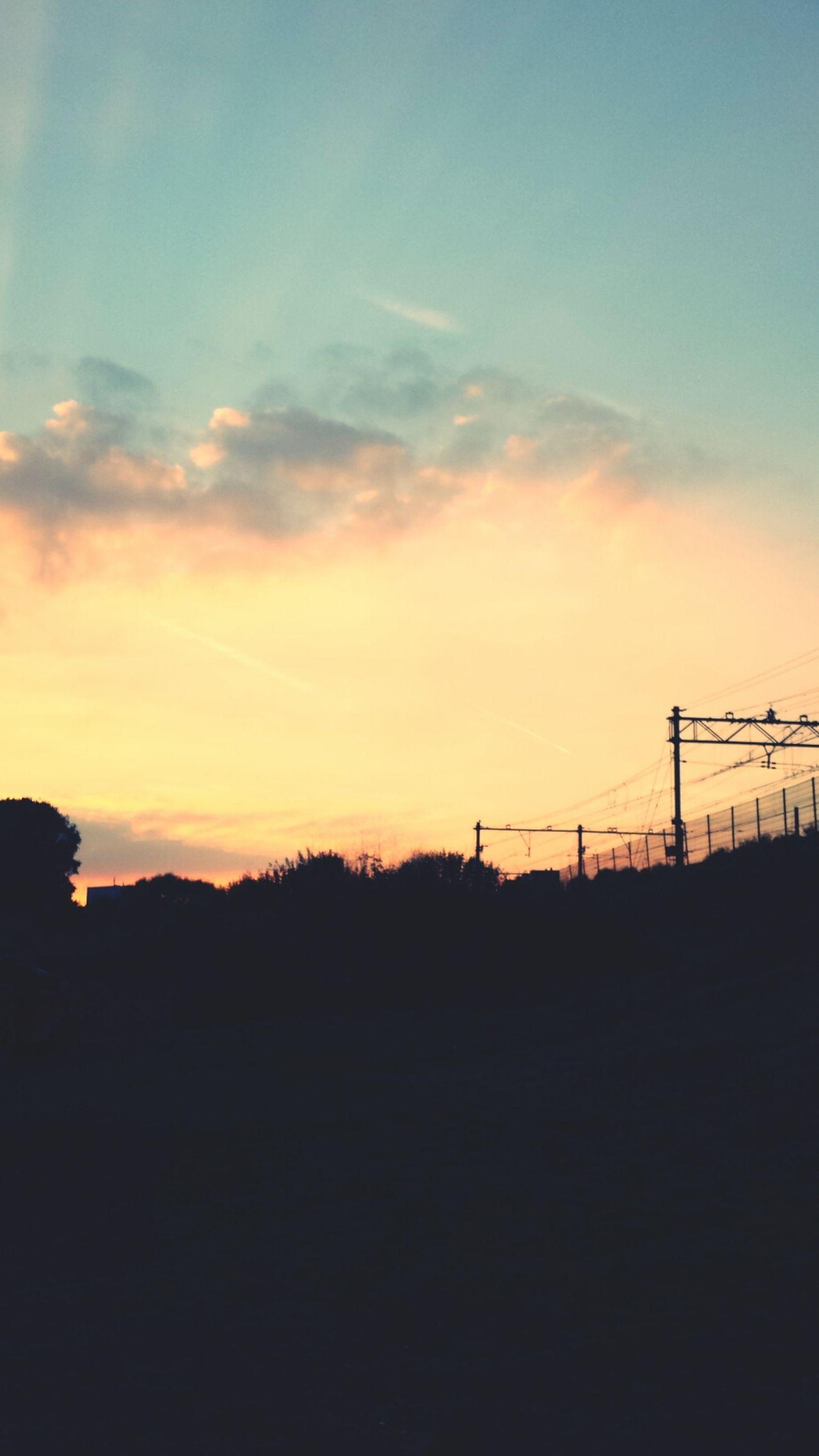 Amsterdam Sunset Evening