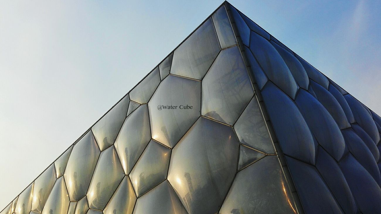 Water Cube Beijing Olympic Park Beijing Scenes Beijing, China Architecture Travel Destinations Tourism City Views Modern Architecture Olympic EyeEm New Here EyeEmNewHere EyeEmNewHere