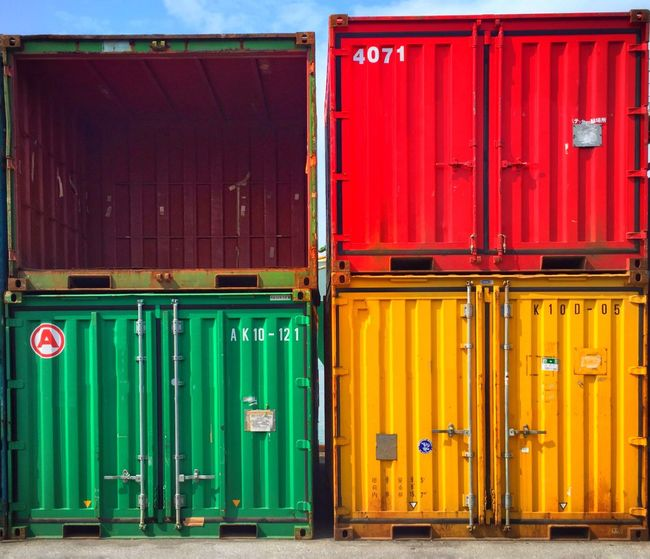 Containers Colorful Containers At The Port Iphonephotography Streetphotography The Street Photographer - 2016 EyeEm Awards Okinawa Shipping Containers Ultimate Japan Colour Of Life TakeoverContrast Colors And Patterns