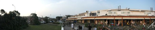Tornado destroy Cazzago City (VE) Tornado Tornado Damage Nature Damnage Destroyed Destruction Cazzago Venice