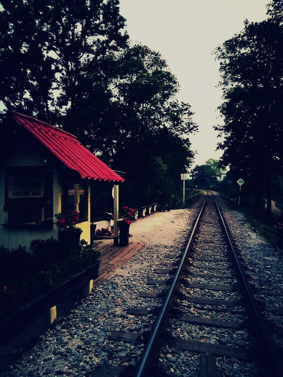 Train Train Station Train Tracks TouchOfRed