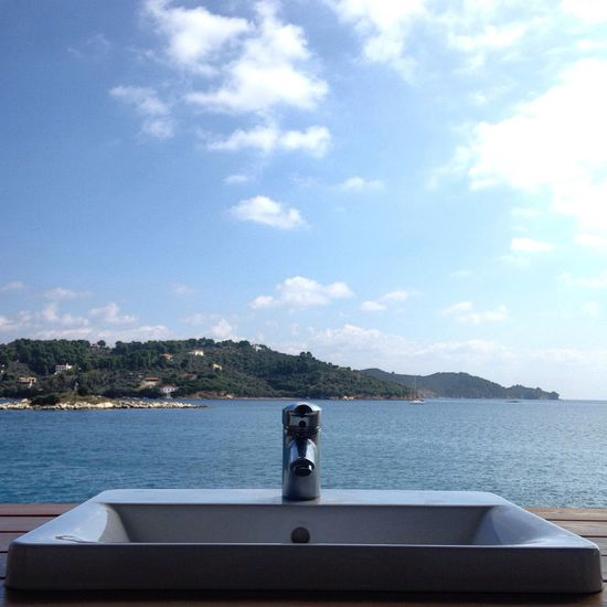 The Calmness Within Sea View Bathroom