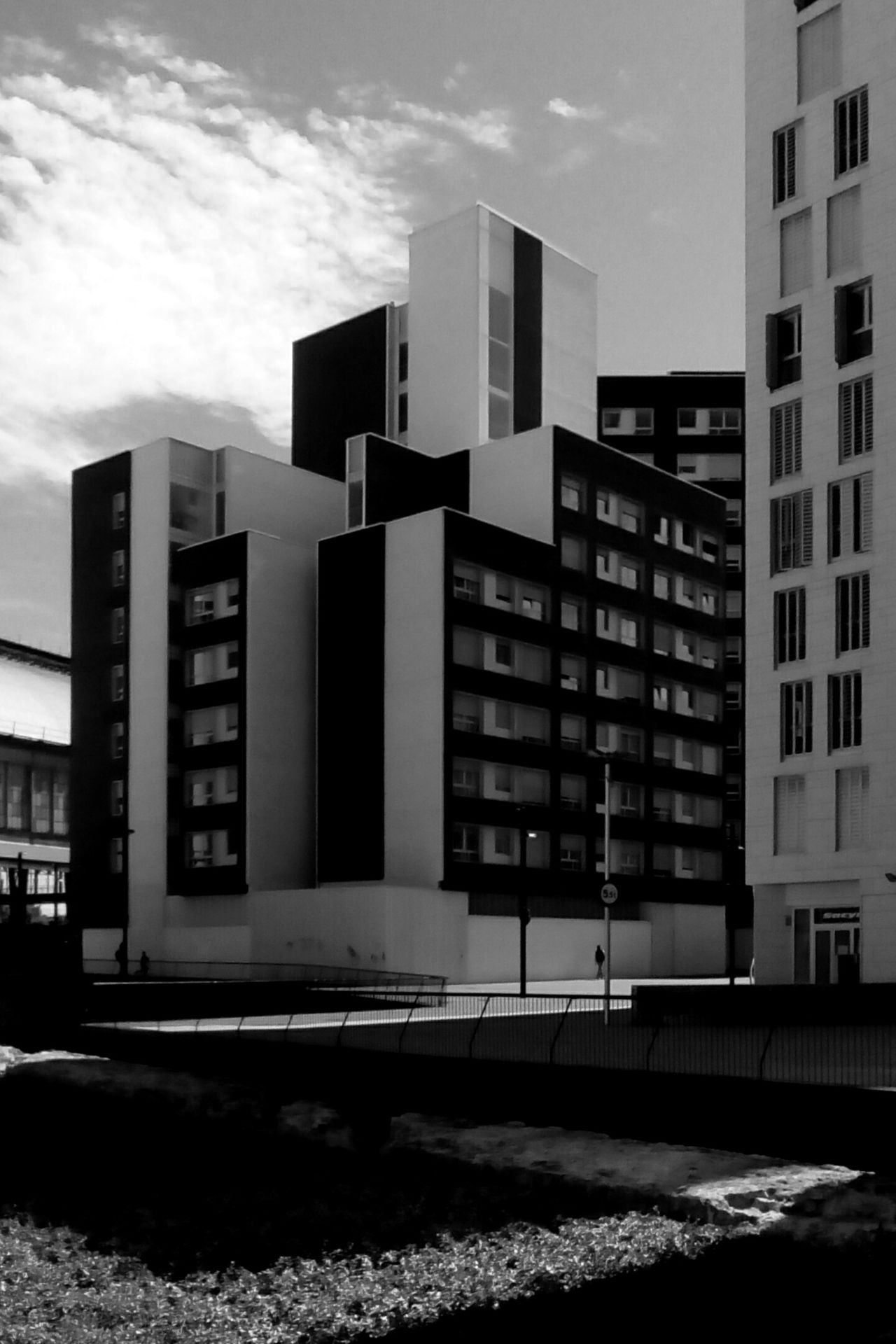 Architecture Modern City Built Structure Building Exterior Urban Skyline Cityscape Outdoors Day No People Open Edit Light And Shadow Monochrome Blackandwhite