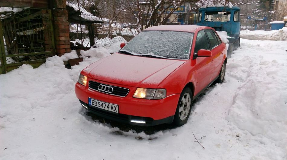 Audi Audi A3 Audi A3 8L Waschen ❤ Auto Automobile Automobile Industry Beautiful Day Beautiful Nature Beauty Car Photo Photography Red Red Car Snow Snow ❄ Winter