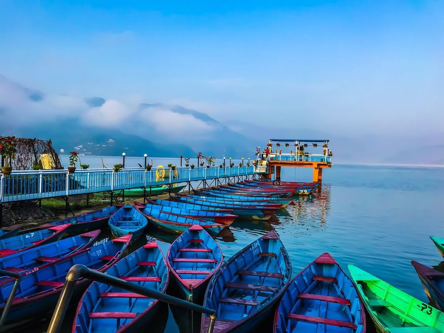 Nautical Vessel Water Sky Sea Transportation Moored Boat Mode Of Transport Horizon Over Water Nature Outdoors Cloud - Sky No People Scenics Beauty In Nature Tranquil Scene Tranquility Harbor Day Beach