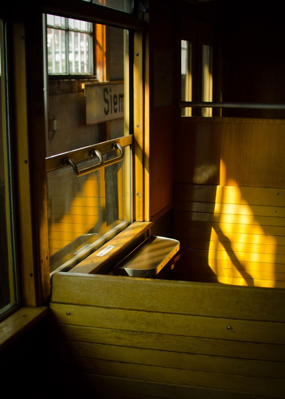 My Eyes My Berlin Windows Transportation Film Train - Vehicle Still Life Urban Exploration Urban Geometry Stillness In Time Fine Art The City Light