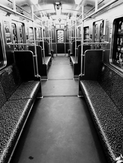 Vehicle Interior Transportation Train - Vehicle Vehicle Seat Public Transportation Mode Of Transport Rail Transportation Subway Train No People