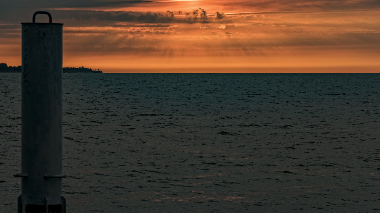 sunset Baltic Sea Schleswig-Holstein Beach Beauty In Nature Cloud - Sky Day Early Morning Horizon Over Water Nature No People Outdoors Pillar Scenics Sea Sky Sunset Tranquil Scene Tranquility Water