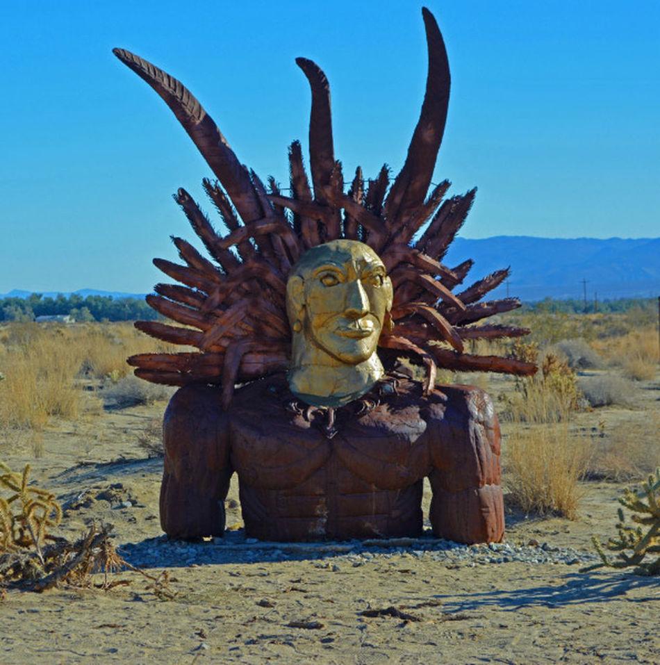 Chief Statue The Chief Sun God Statue Sun God