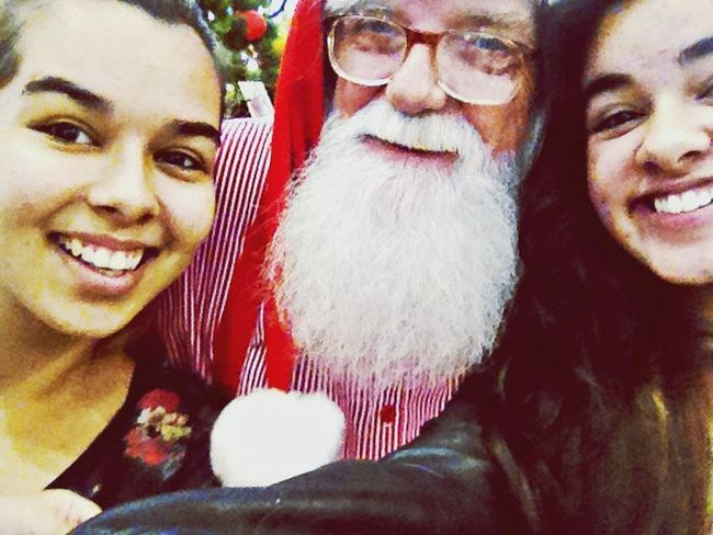 Selfie Santa Claus He Is So Cute ????