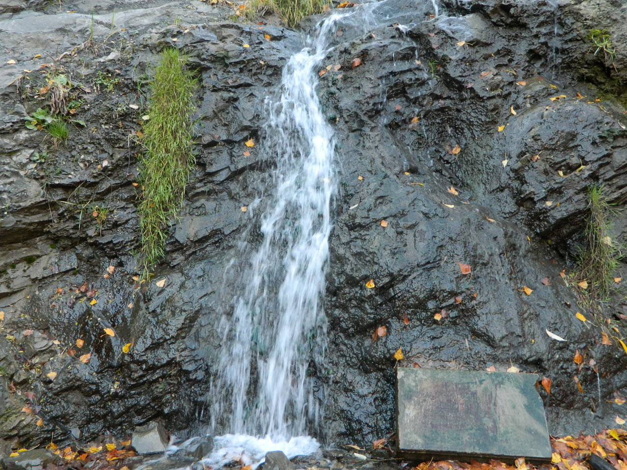 rock - object, waterfall, nature, no people, outdoors, water, motion, day, beauty in nature