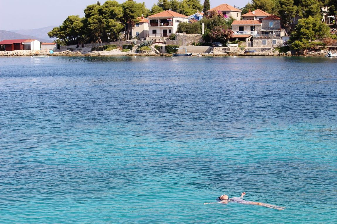 Water Beach Sea Swimming Summer Vacations Love Happiness Croatia Canonphotography šolta Sunshine Vacations 600D Girl Woman Swimsuit Floating On Water