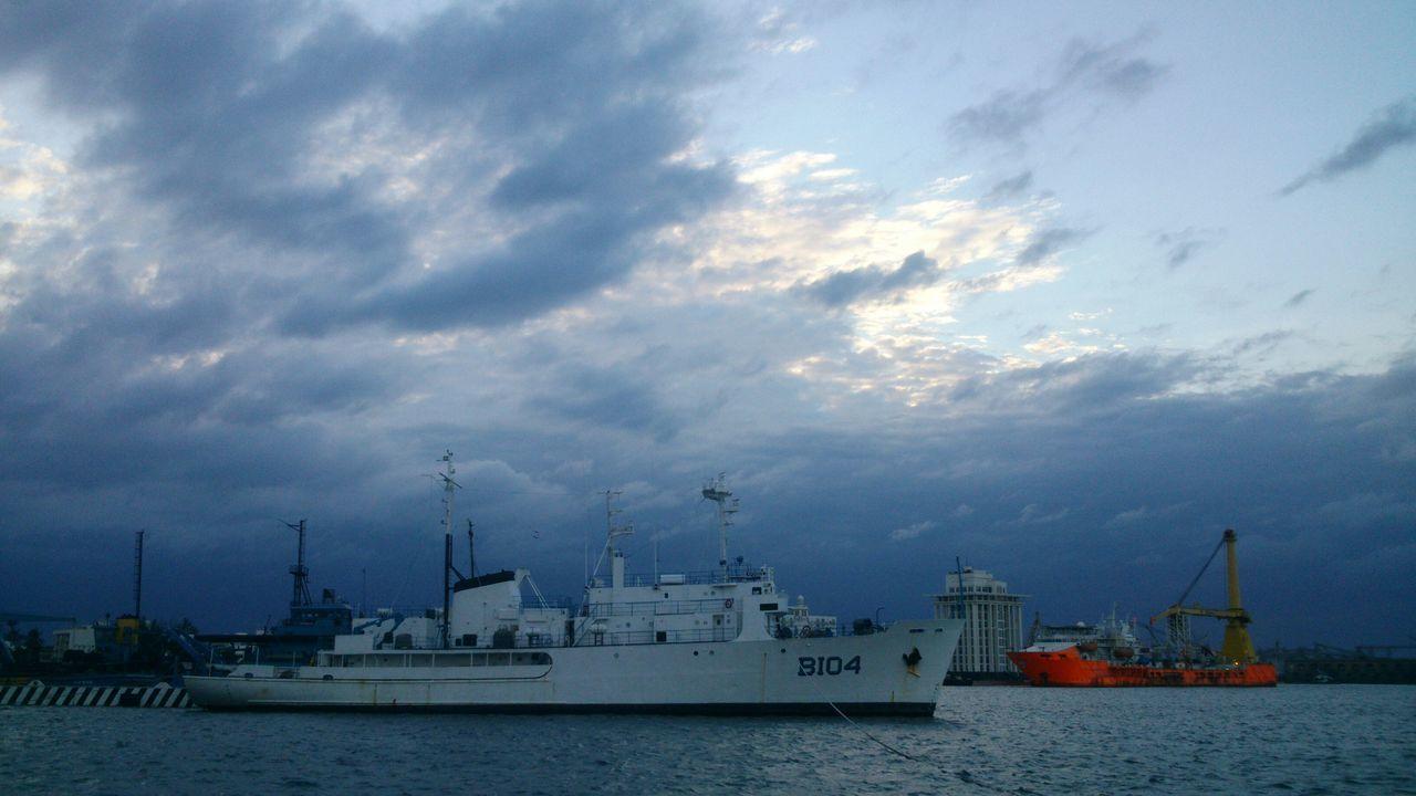 Mar Veracruz Mexico Atardecer Boats⛵️ Barcos E Navios