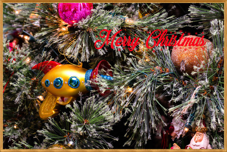 Merry Christmas Animal Representation Art Art And Craft Auto Post Production Filter Christmas Tree Close-up Creativity Decoration Figurine  Hanging Human Representation No People Outdoors Ray Gun Red Sculpture Statue Toy Tradition Transfer Print