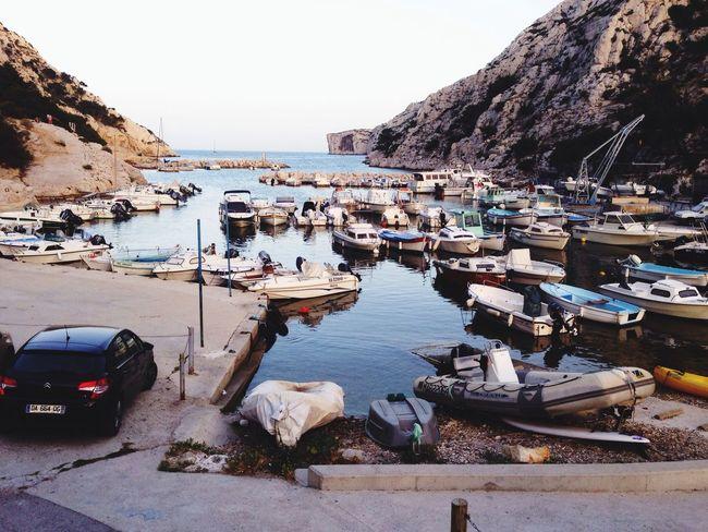 Morgiou Calanques  Marseille Enjoying The Sun