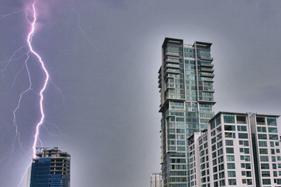 Beautiful stock photos of blitz, thunderstorm, city, lightning, power in nature