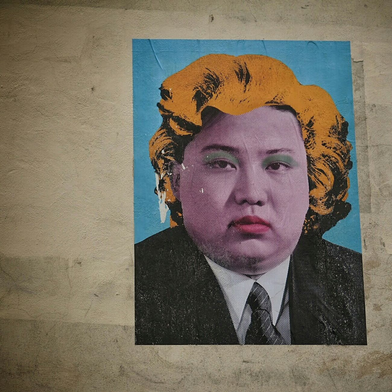 Big Kim ? Graffiti LdnGraff Graffiti Art London Street Art Stickerart Sticker Art Wall Sticker