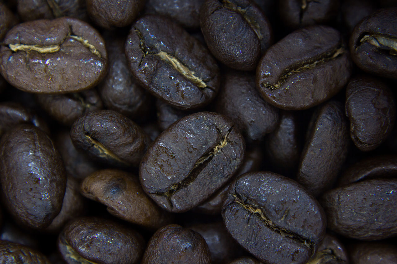 food and drink, food, backgrounds, full frame, freshness, still life, healthy eating, close-up, large group of objects, no people, indoors, coffee bean, brown, raw coffee bean, day