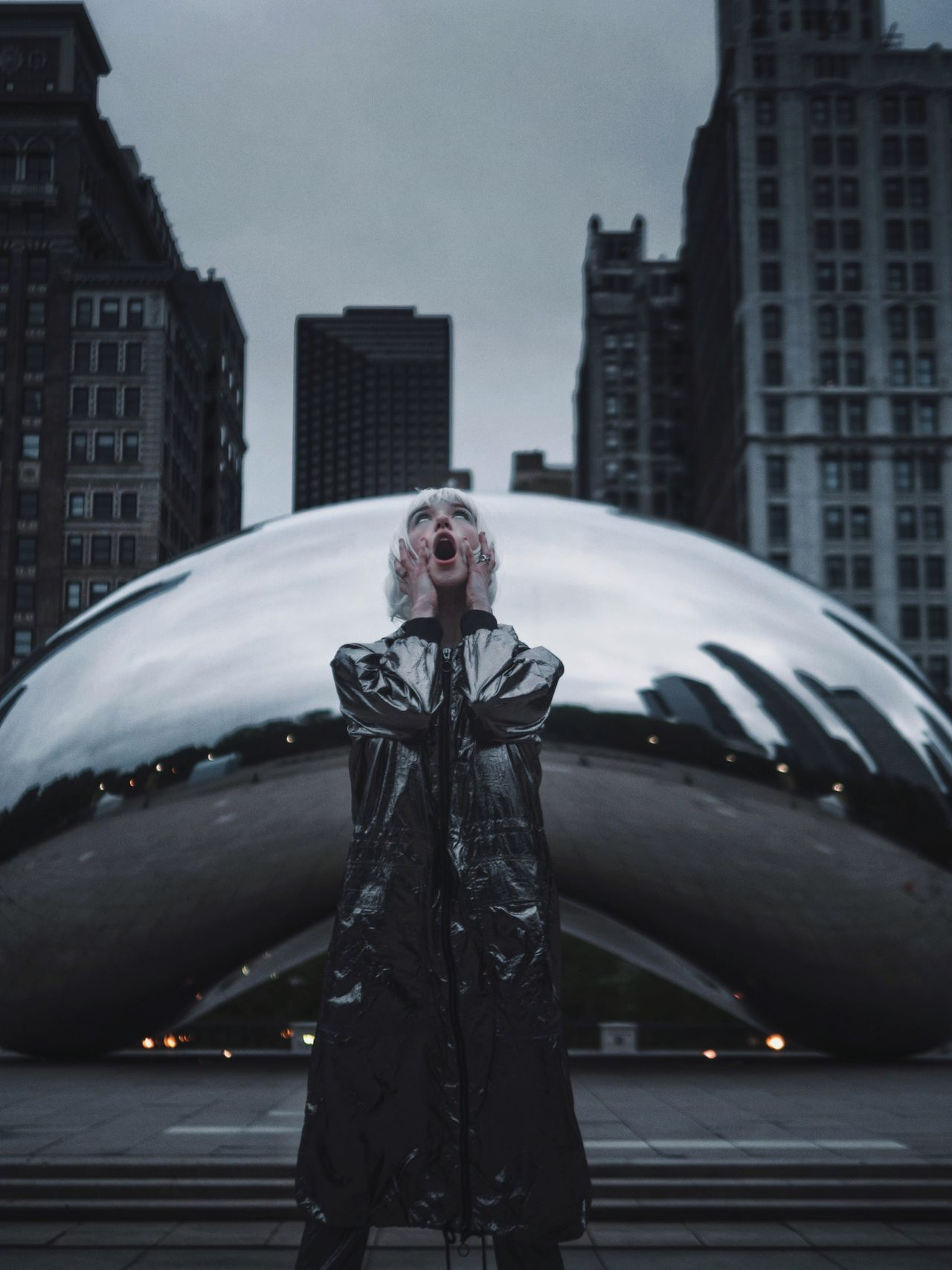 😱 Reflection Women Who Inspire You Beangames Chicago Urban Geometry Science Fiction Futuristic Portrait Fashion EyeEm Best Shots Absrtact Sky Dramatic Sky