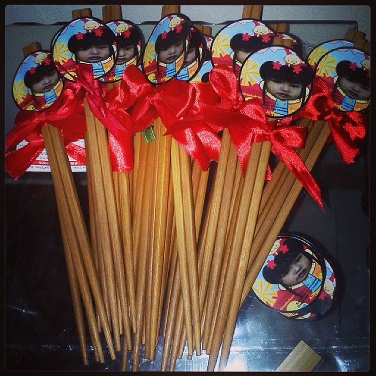 Xie xie Chinesethemeparty Chopsticks Giveaways