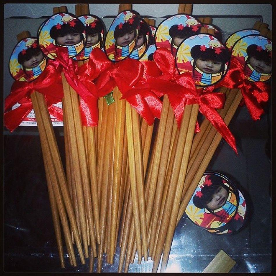 Xie xie Chinesethemeparty Chopsticks Giveaways