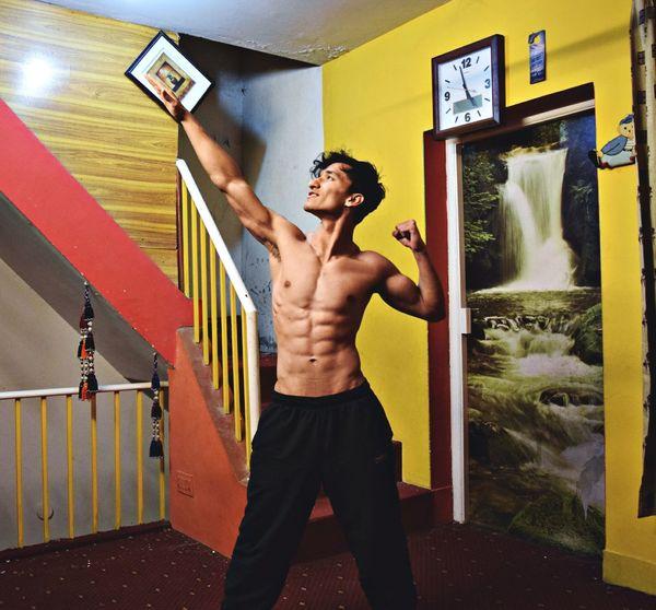 Jhonny bravo LOL Jhonny Bravo Abs Workout Fitness FitnessFreak Love Bk Mogivation #happy