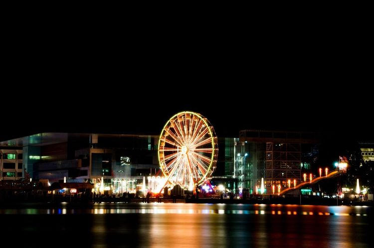 Great Atmosphere Night Night Lights Light