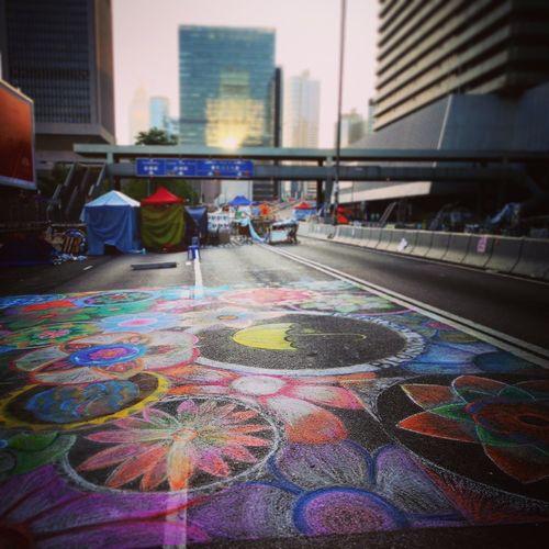 和平佔領香港 雨傘運動