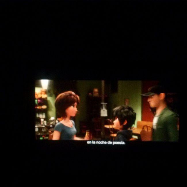 Tratando de tener una noche tranquila... Bighero Hiro MOVIE Movienight sad verysad