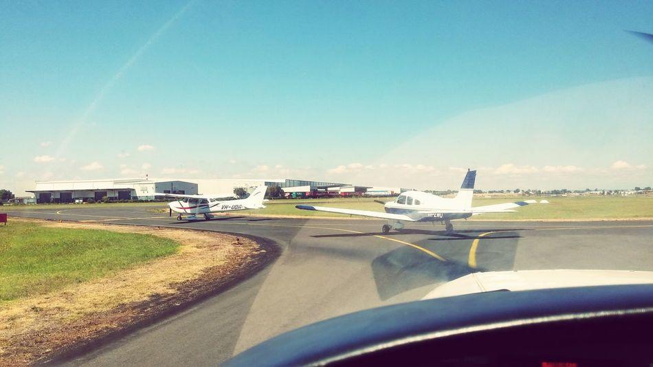 Traffic Jam!! Waiting for take off at YMMB Pilot Pilotseye PilotsLife