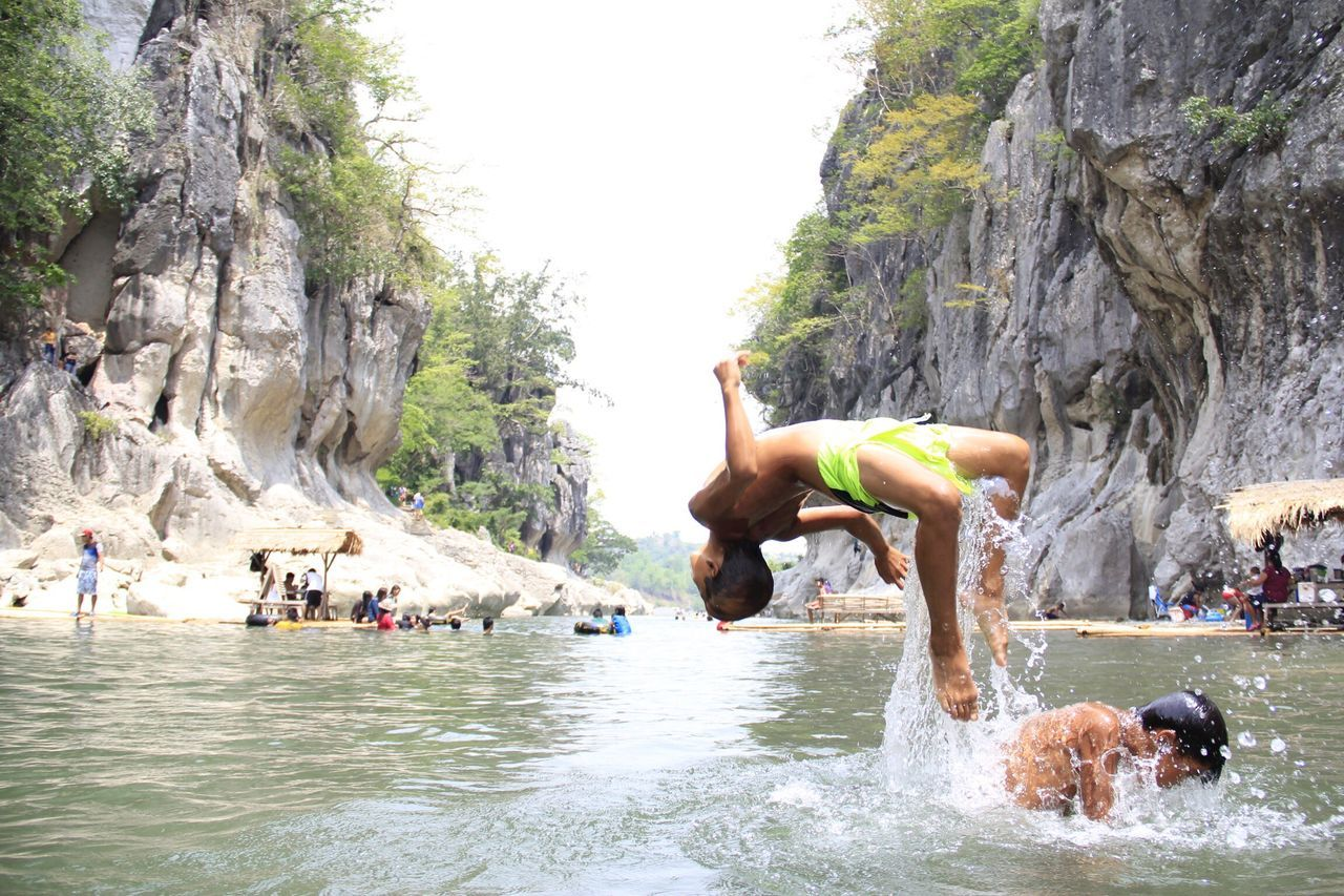 Philippines Minalungaonationalpark Pinoy Kidguide Backdive First Eyeem Photo