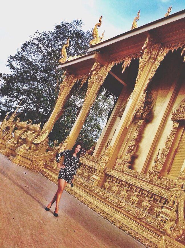 Buddhist Temple Cutural Arts Thailand Thailand