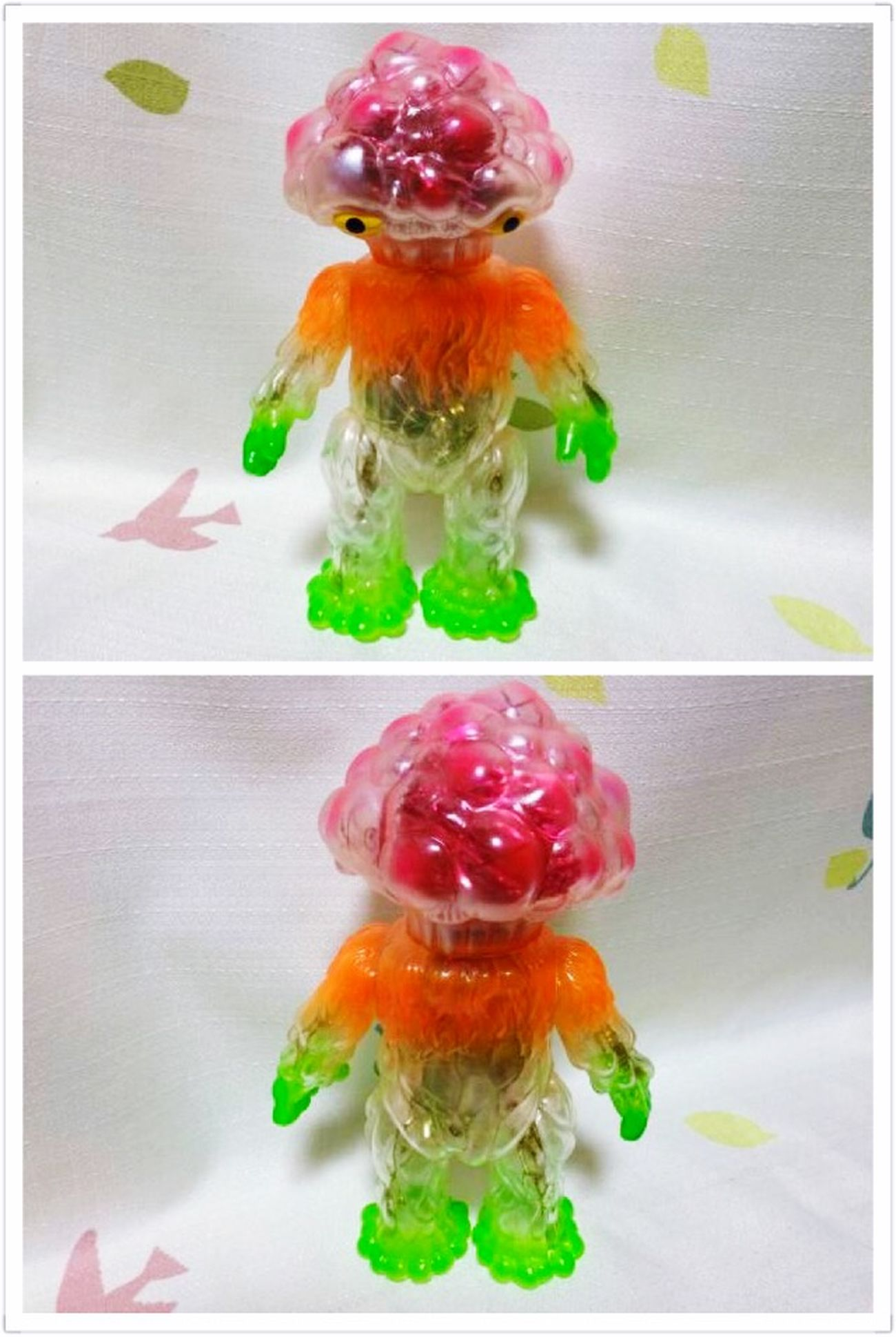 "Gotta love ""Matango"" the mushroom monster Kaiju Mushrooms Toys Color Portrait Sofubi"