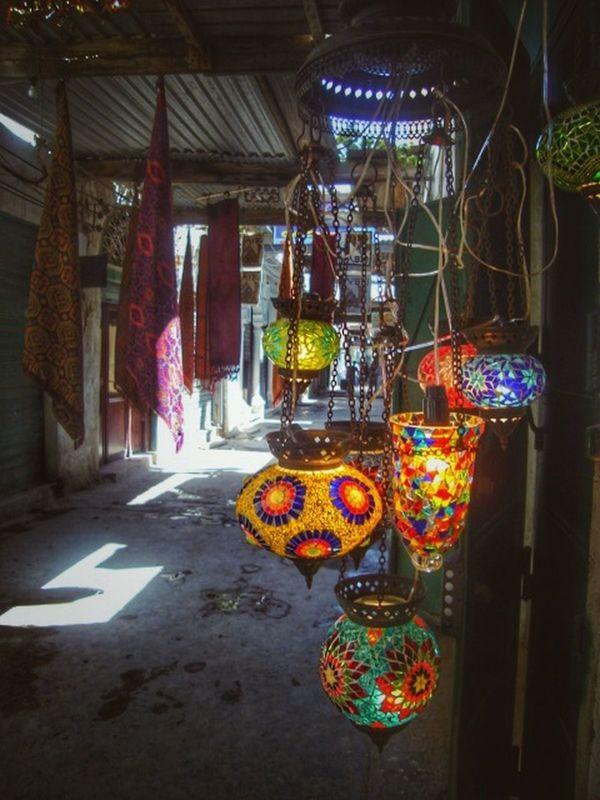 Lamps ©Hiba Shalabi Tripoli City No People Lights Shadows Hibashalabi هبة_شلابي Travel Photography Oldcity Libya Everydaymiddleeast Africa Traditional Cityscape Outdoors