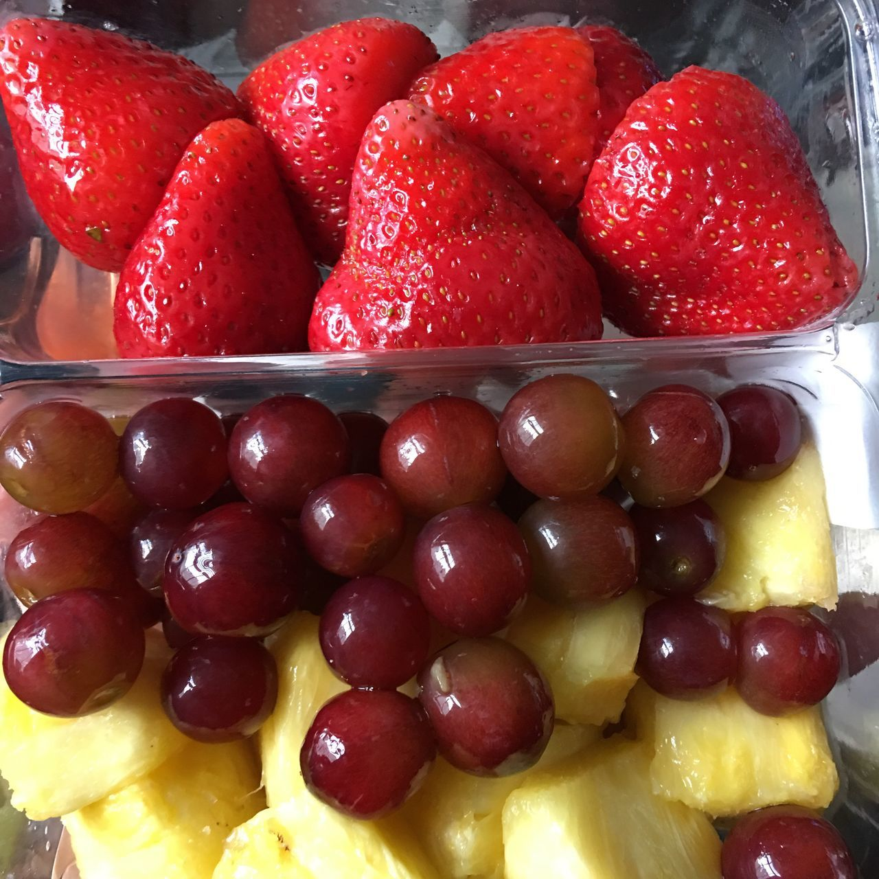 fruit, strawberry, food and drink, food, freshness, sweet food, dessert, red, indoors, indulgence, temptation, raspberry, no people, healthy eating, close-up, ready-to-eat, day