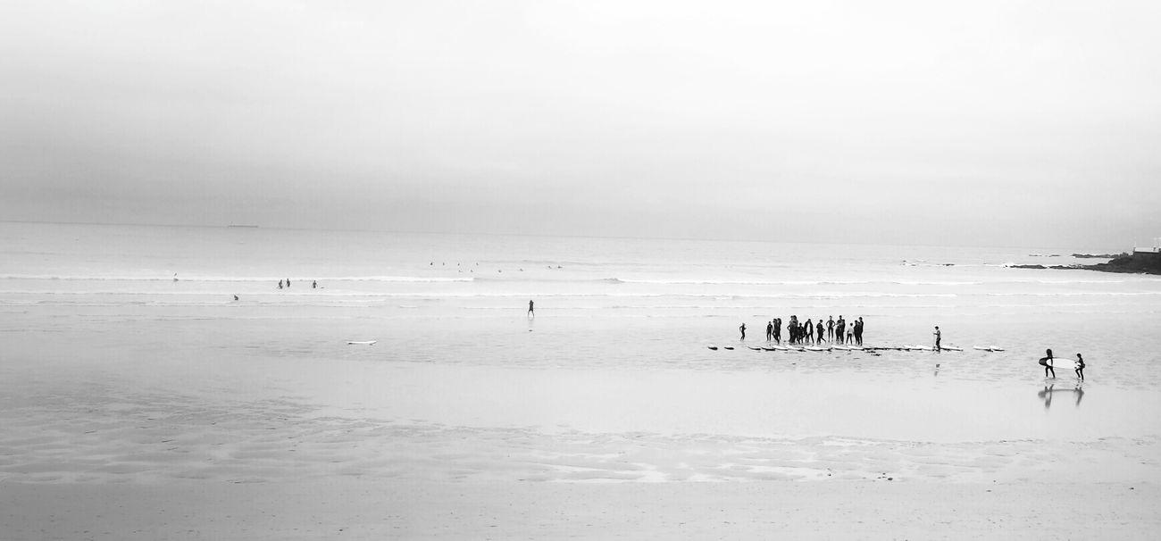 Waiting For The Waves Blackandwhite Gijón Surfing Mi Serie Gijón Mi Serie Minimal