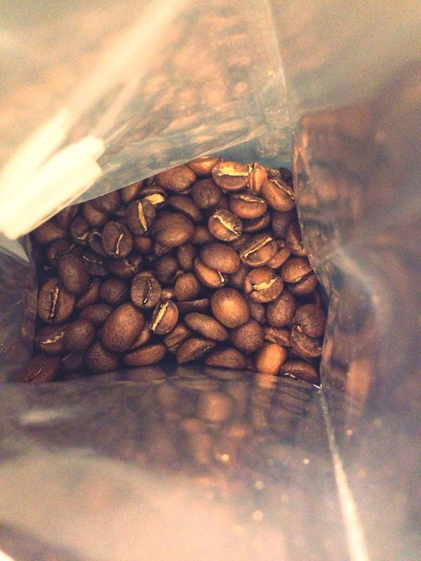 First open of new Bag of Coffee from Fiveelephant Roastery . Coffee At Home Coffee Time Filtercoffee First Eyeem Photo