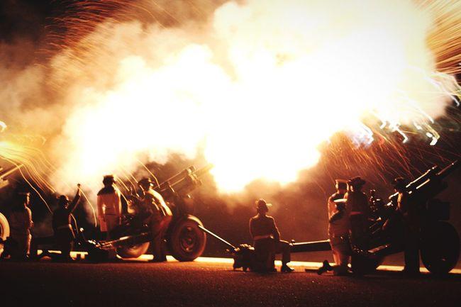 Fire! Skyfire2016 Canberra