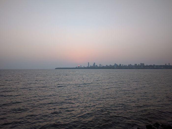 Sunset Sea City Sky Summertime Cool Day Plesant Relaxing Enjoying Life Check This Out Enjoying The Sun Travel Destinations Newyorkofmumbai MumbaiDiaries Mumbai Meri Jaan Mumbaiphotography Mumbailife Mumbai_in_clicks