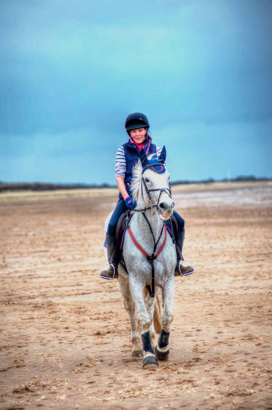 At Theddlethorpe Beach Beach Theddlethorpe Horse Horses Horse Riding Horseriding