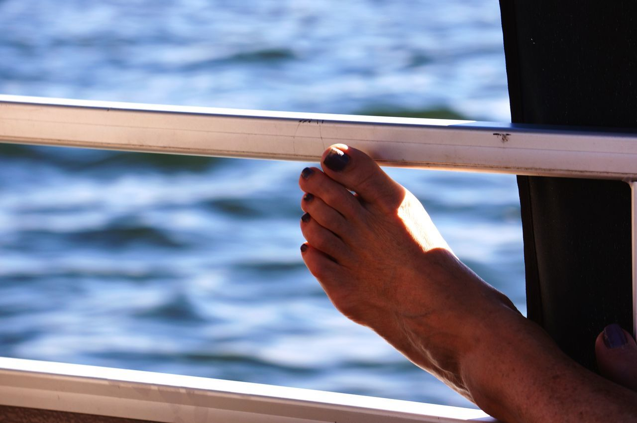 Athleisure Feet Feet Up Fridays Minnesota Nature Boat Ride Toes Getty Images Nationalgeographic Lakelife Boating Womansfoot Pedicures  Footfetish